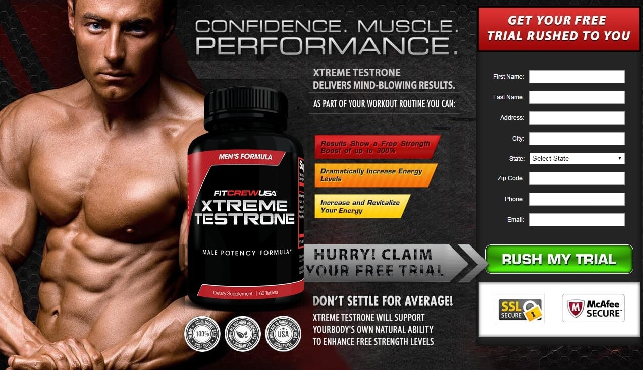 try FitCrew USA Xtreme Testrone