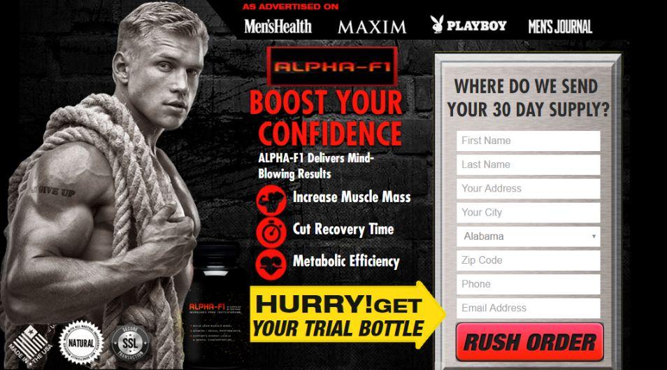 Alpha F1 Testosterone Booster free trial