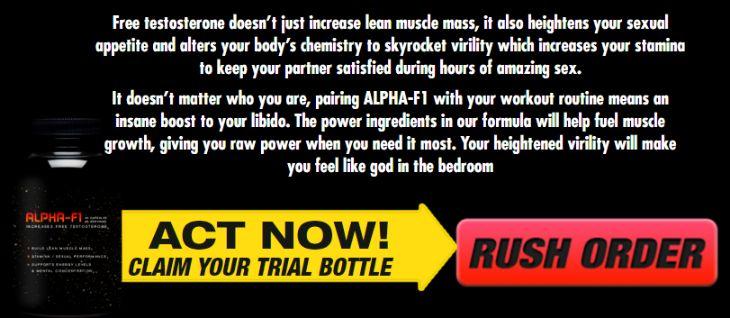 Alpha F1 Testosterone Booster trial