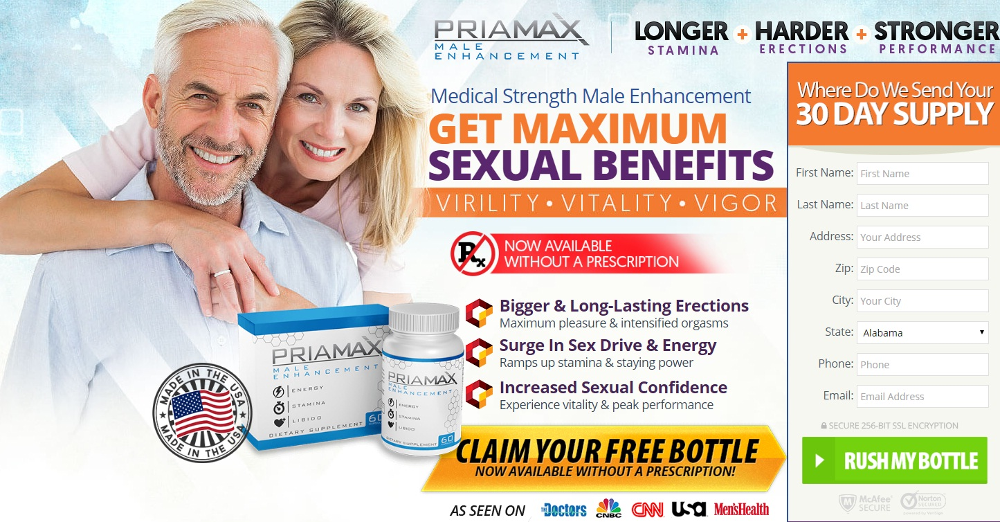PriaMax Male Enhancement – Do Not Buy Read Side Effect Free!